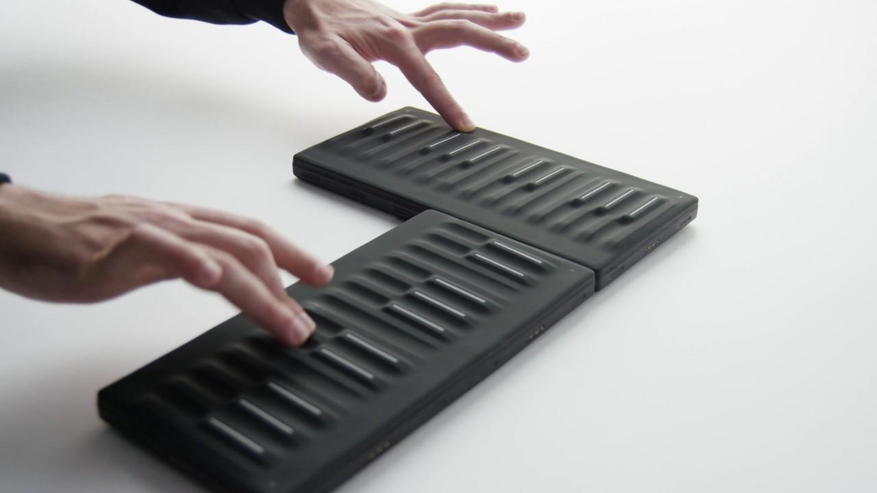 Seaboard Block Super Powered Keyboard Youtube