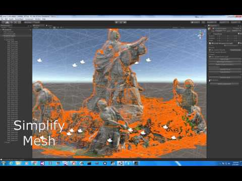 NVIDIA's Reality Capture / Unity Photogrammetry Viewer