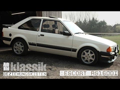 Ford Escort RS 1600i - Kurzfilm - AUTO BILD Klassik / Beziehungskisten