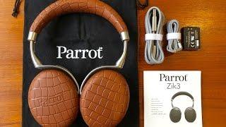 استعراض لسماعة الرأس Parrot Zik 3.0:كل شيء فيها لاسلكي!