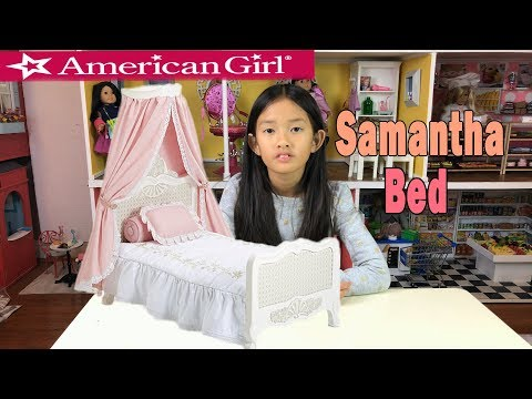 American Girl Samantha Bed