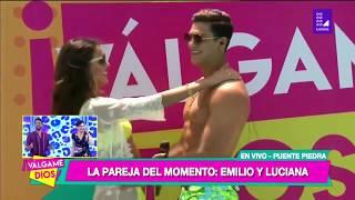 Luciana Fuster Y Emilio Jaime Reaparecen Juntos En Tv  Y Se Dan Romantico Beso ❤️😍 😘