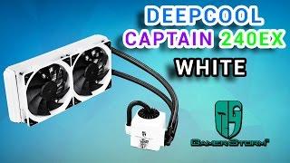 Deepcool Captain 240 EX White Обзор. Все лучше и лучше.