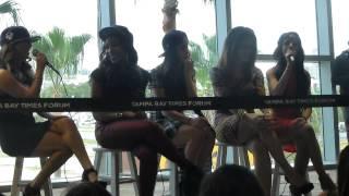 Fifth harmony - Honeymoon Avenue Q&A Tampa FL