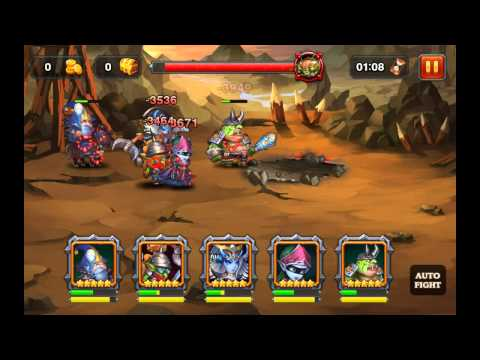 Heroes Charge: Defeating Lord of Caves Outland Portal Difficulty 6 (Level 90)