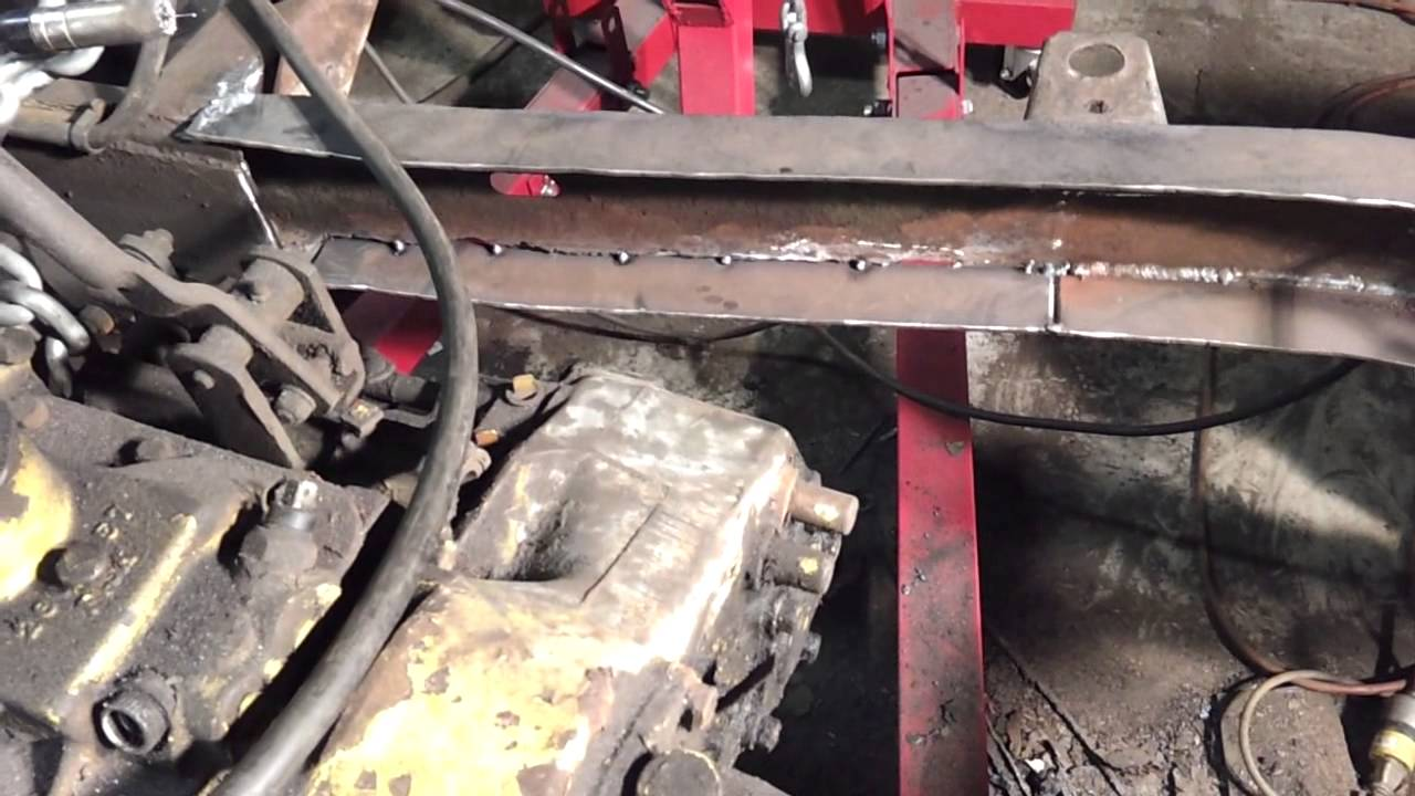 project cj5 - frame repair (part 7) - youtube  youtube