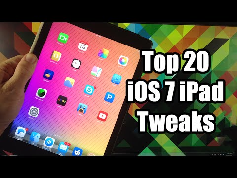 Top 20 Best iPad Jailbreak Tweaks for iOS 7