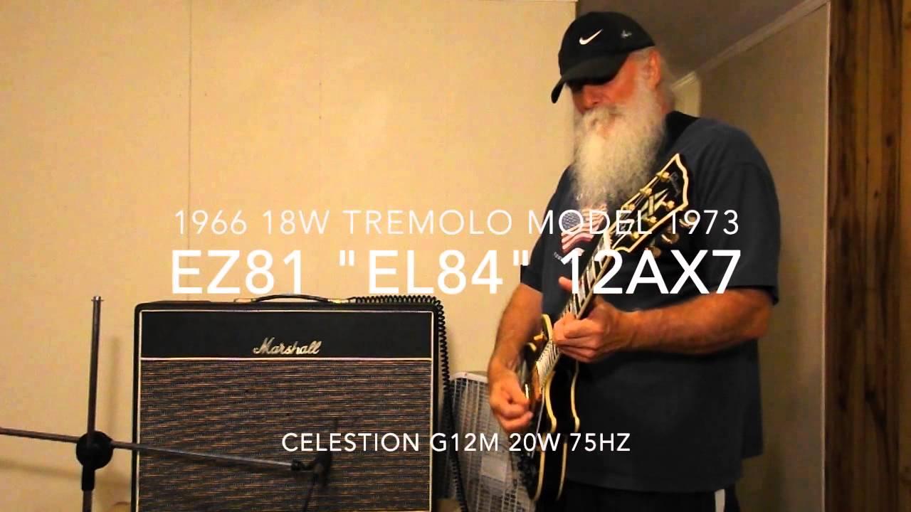 Tube Comparison El34 Vs El84 Kt66 6 Youtube 20w Power Amplifier With