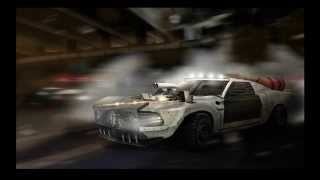 "Speed Art Virtual Tuning ""DEATH RACE"" Ford Mustang BOSS302 1969- R.P Design"