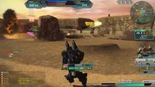 ガンダムオンライン 水中型ガンダム(レンタル)で300PT越え RAG-79-G1 GundamOnline