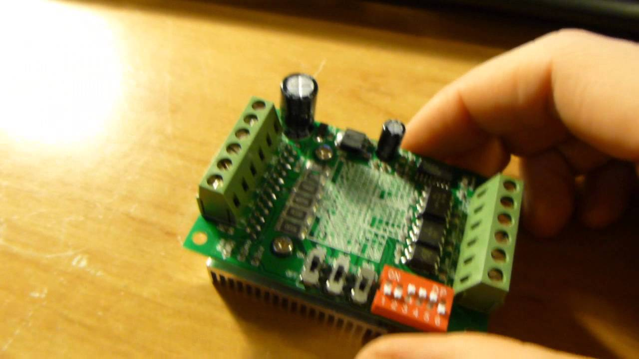 Tb6560 Stepper Motor Controller From Icstation Review And Steppermotorcontroller Impressions Youtube