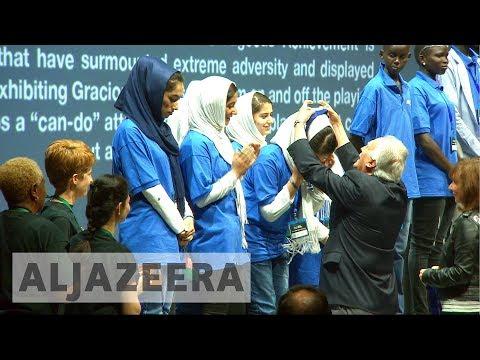 Afghan girls' robotics wins silver after US visa obstacle