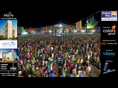 United Way Baroda - Garba Mahotsav with Atul Purohit - Day 9 - Live Stream