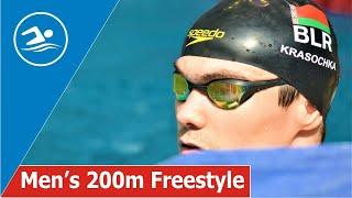 Men's 200m Freestyle / Belarus Swimming Cup 2020 / SWIM Channel