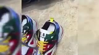 Cách buộc dây giày thể thao