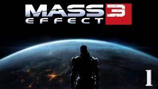 Прохождение Mass Effect 3 - часть 1 Отставной офицер