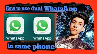 How to make clone of any app  Dual WhatsApp Instagram Facebook  use two accounts in one phone
