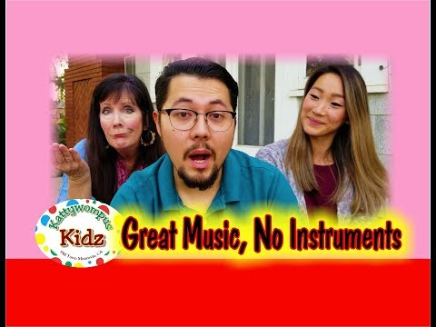 Make Music Without Instruments  - Kid's Video!