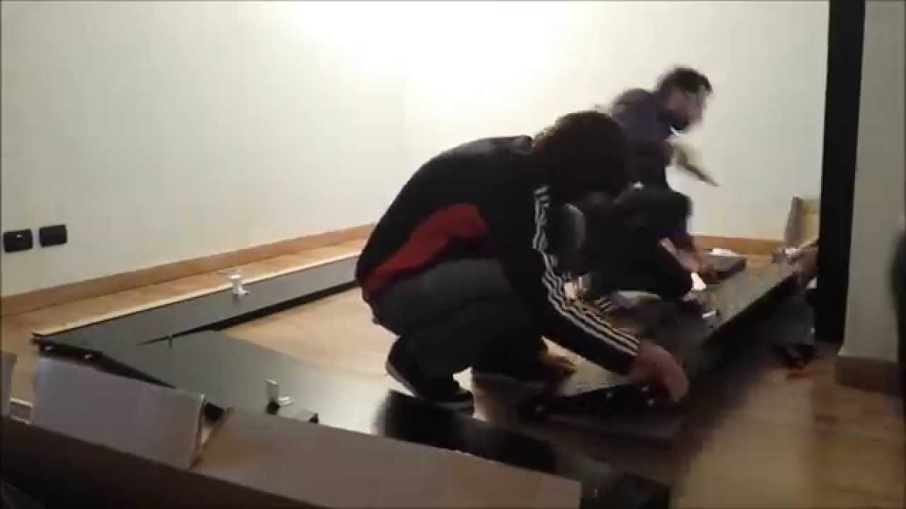 Time Lapse Montaggio Letto Ikea Filo