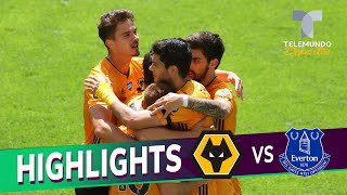Highlights & Goals | Wolverhampton vs. Everton 3-0 | Telemundo Deportes
