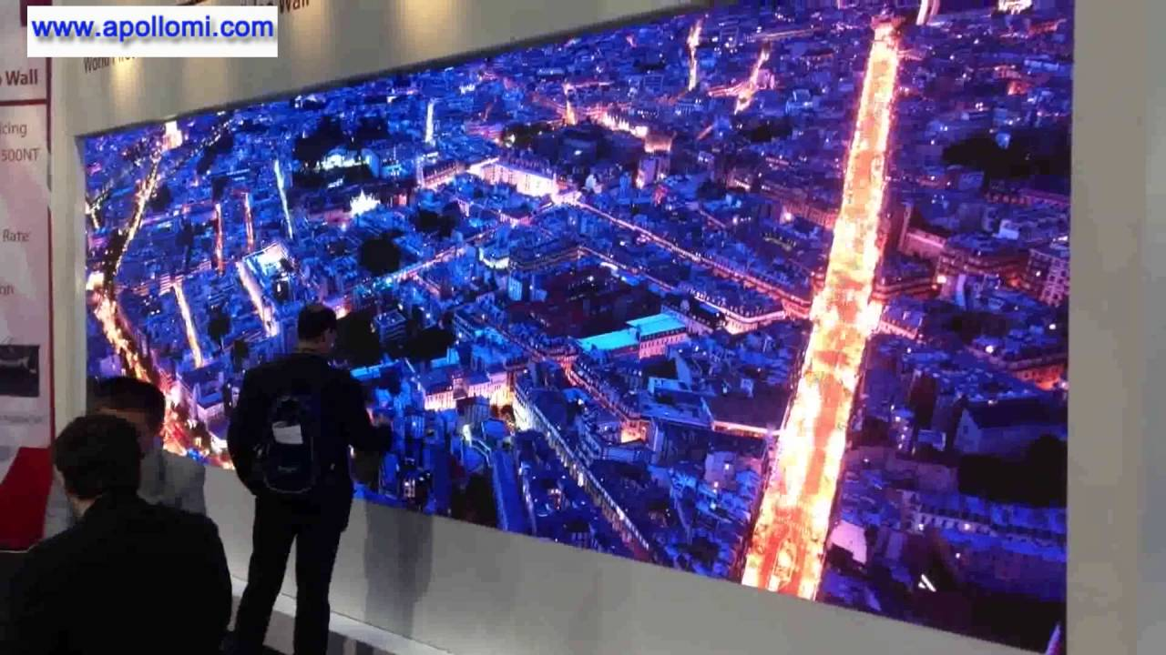 P1 9mm 4K LED Video Wall for Exhibition