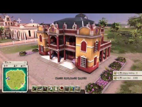 Tropico 5 Multiplayer  | Miros vs. Captain_Beer vs. Vympel Part 2 | gtx 970 i5 4460 | 2016 |