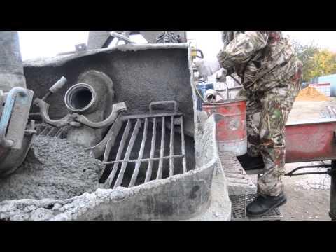 прокачка бетононасоса