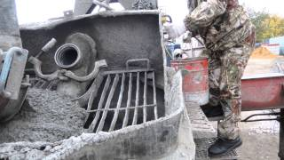 прокачування бетононасоса