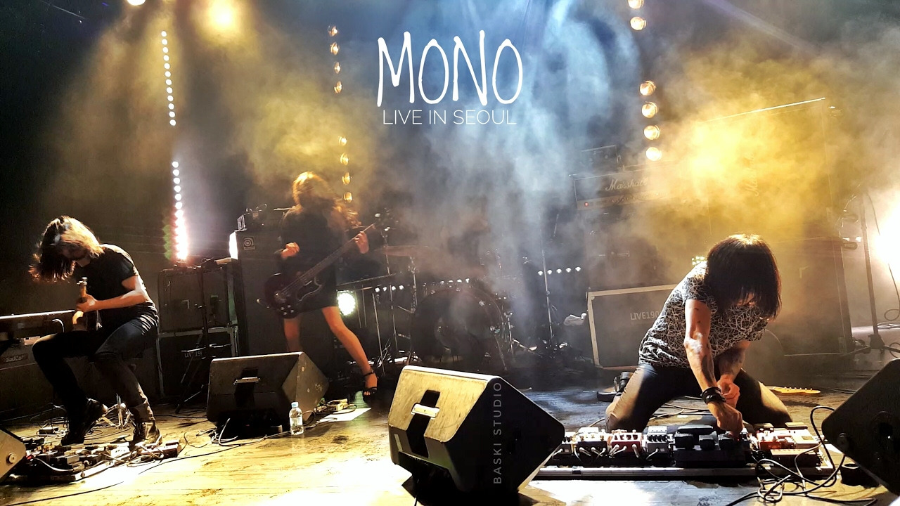 MONO - Pure as Snow [live in Seoul] 2017.01.21 - YouTube