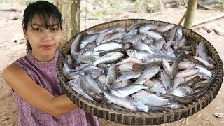 Yummy cooking fish salad recipe  Cooking skill