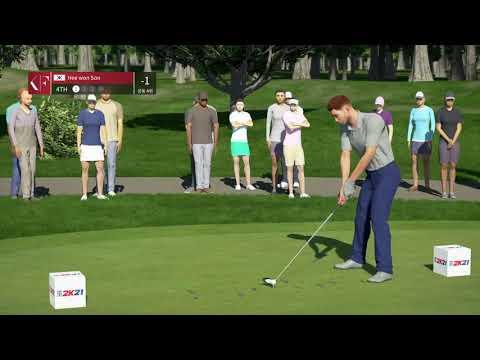 [PGA TOUR 2K21] Game play  