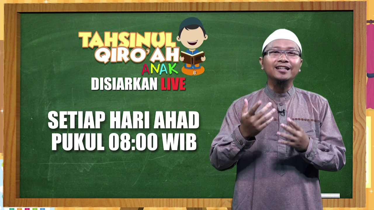 PROGRAM : TAHSINUL QIRO'AH ANAK - MGI TV