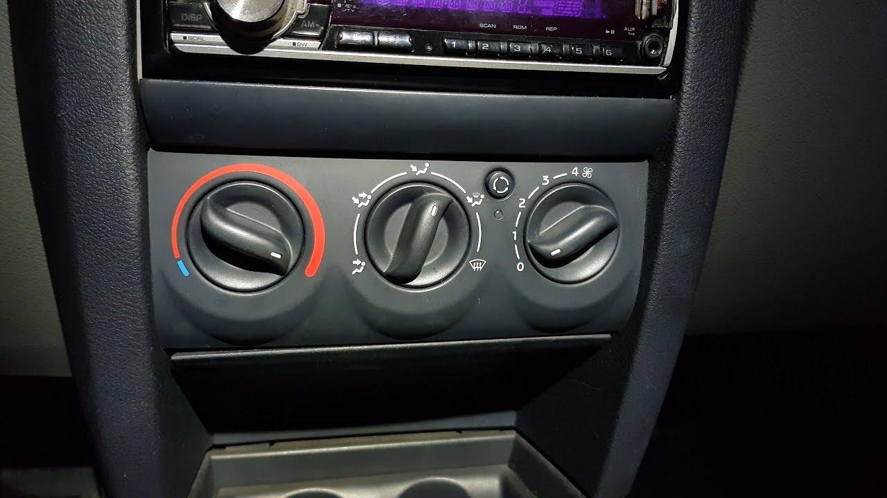 Plen Renault Clio 2 Phase 2 Hvac Panel Illumination Bulbs Replacing