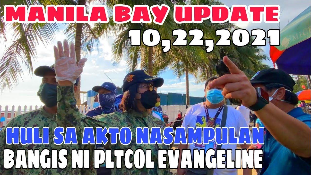 Download MANILA BAY HULI SA AKTO! NASAMPULAN! BANGIS NI PLTCOL.EVANGELINE! Miz July