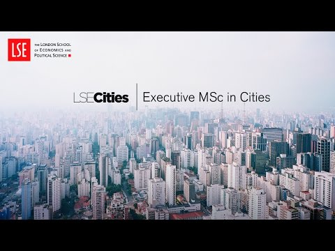 Executive MSc in Cities – Introduction
