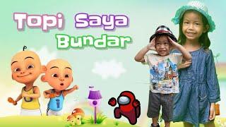 Topi Saya Bundar | Lagu Anak Indonesia Populer | 3LS