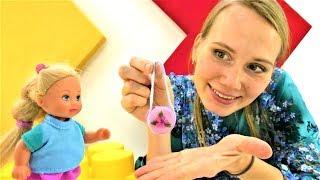 Игры Барби. Модная сумка для куклы своими руками.