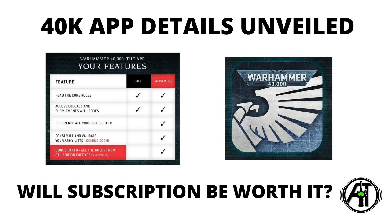 App for Warhammer 40K 9th Edition - Details of Features + Pricing Revealed