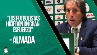embeded bvideo Rueda de Prensa: Guillermo Almada - Santos 4-1 Puebla
