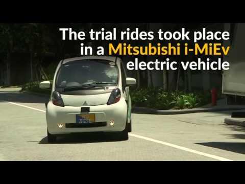 'Robo-taxis' roam around the streets of Singapore
