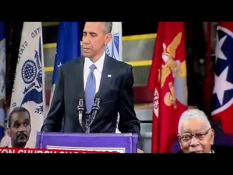 President Obama Eulogizing Reverend Clementa Pinckney So. Carolina