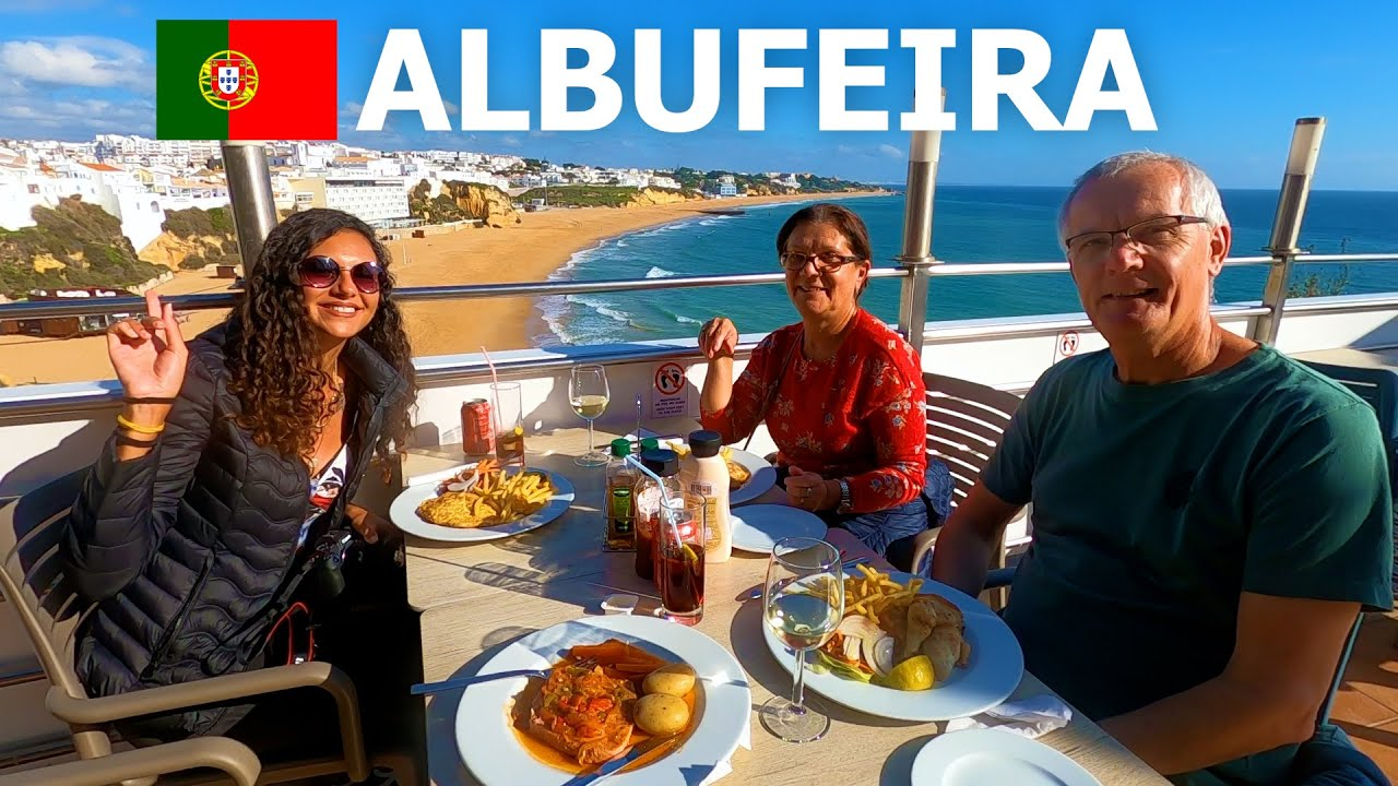 EXPLORING ALBUFEIRA 🇵🇹 A DAY IN THE ALGARVE (PORTUGAL)