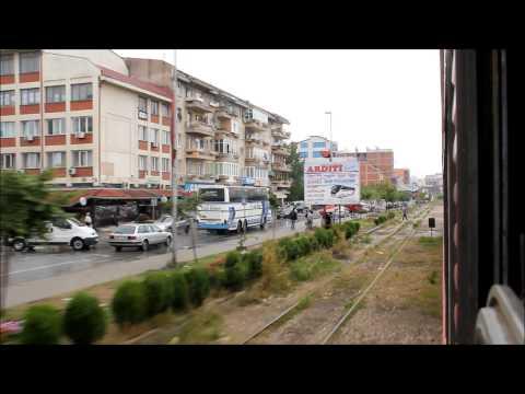 Kosovo railways train Pristina - Skopje