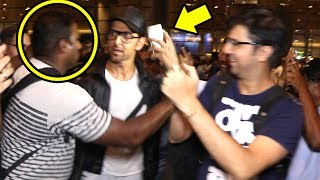 Hrithik Roshan Gets ANGRY On Bodyguard For Misbehaving With FAN Trying To Talke A Selfie