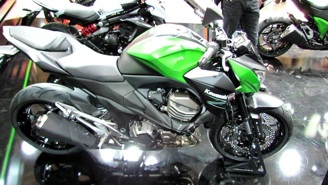 2014 Kawasaki Z800 Walkaround - 2013 EICMA Milan Motorcycle ...