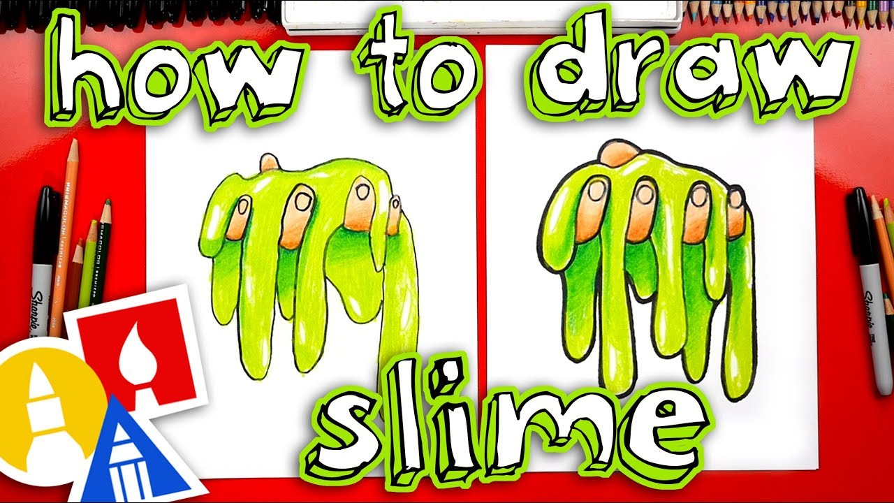 Slime swirl. How to draw