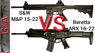 Video Beretta ARX160 22 vs Smith&Wesson M&P15-22 download MP3, 3GP, MP4, WEBM, AVI, FLV Juli 2018