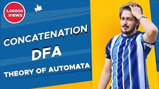 #18 concatenation of finite automata FA/DFA | concatenation in theory of computation