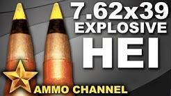 AMMOTEST: 7.62x39 HEI High Explosive Incendiary ammo