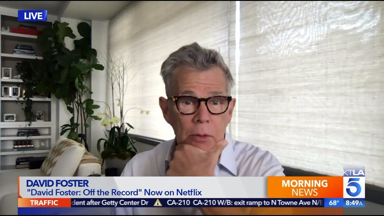 David Foster Reveals The Real Reason He S Featured In His New Documentary Youtube